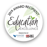 2019 Award Recipient Education Excellence Logo